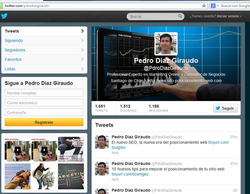 Twitter y SEO